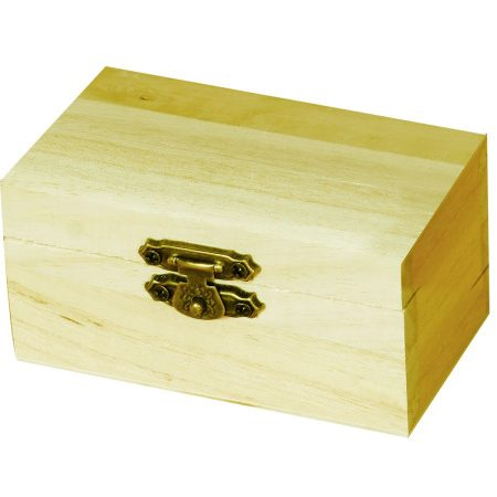 Mini fadoboz, kincsesláda 9x4,7x5,5 cm 5887