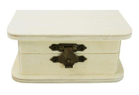 Mini fadoboz, téglalap alapú 8x4x5,5+1 cm 5890