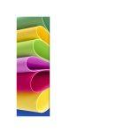 Dekorgumi A4 2 mm, 30 színben