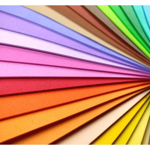 Dekorgumi A4 2 mm, 25 színben