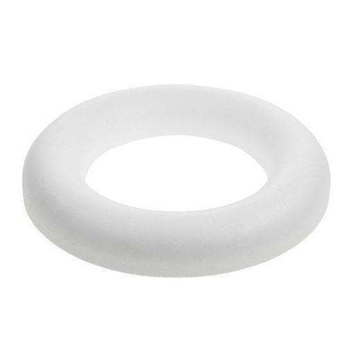 Polisztirol / hungarocell félkoszorú 18cm