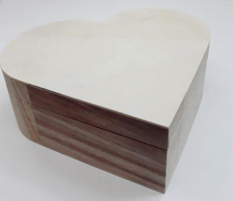Fadoboz szív 22*20*7,5cm 3260C