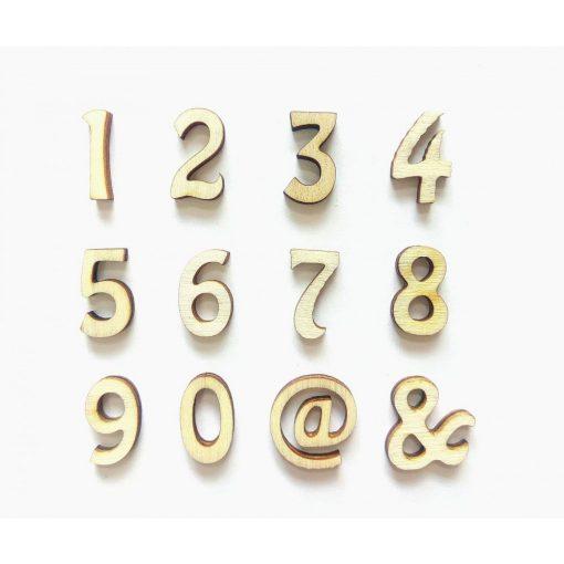 Fa szám -1 kb.25 mm OB3-25