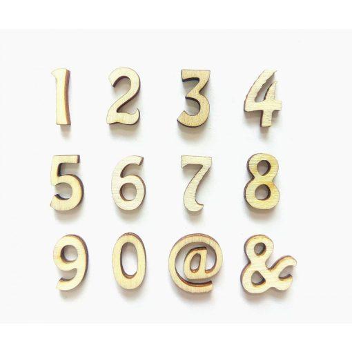 Fa szám -4 kb.25 mm OB3-25