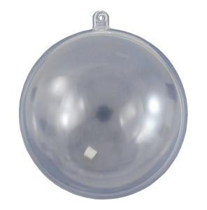 Átlátszó műanyag / akril gömb 10cm 7695