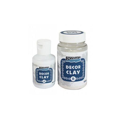 Pentart Decor Clay öntőpor szett 100+40ml