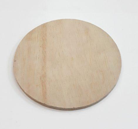 Fa poháralátét 10cm 6/cs 25333