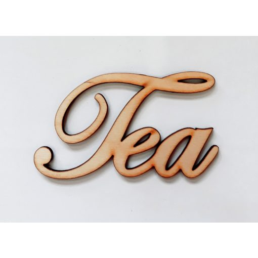 "Felirat ""Tea"" 9,5*5*0,3cm 1779C"