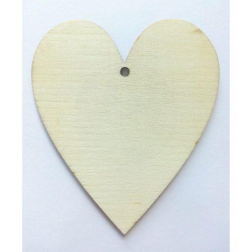 Fa szív 10*8cm 4384C