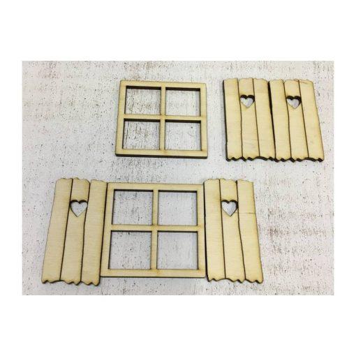 Tündérlak, ablakkocka, palettával 2szett/cs C5236