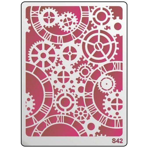 3D Stencil / sablon, 20*15*1 mm-es, S42