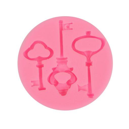 Szilikon öntőforma - Kulcsok 7,5*1 cm 27543
