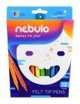Filctoll készlet 12db-os Nebuló F21891K12/ 81054
