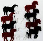 Filcfigura mini lovak 12db/cs, kb.3cm 27326