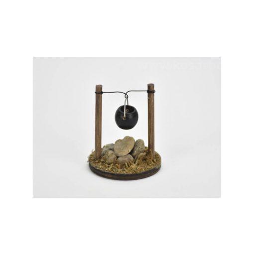 Manókellék - bogrács 4*5cm C0400