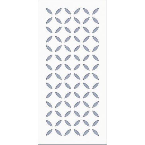 Stencil / Sablon HDS10-003 9,5*20cm*0,1mm Lencse