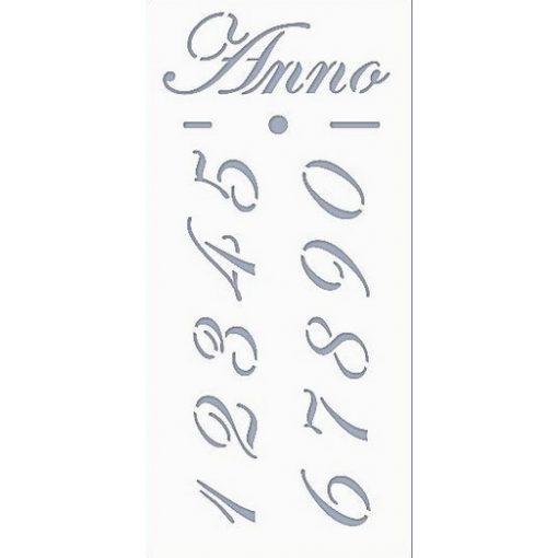 Stencil / Sablon HDS10-004 9,5*20cm*0,1mm Anno