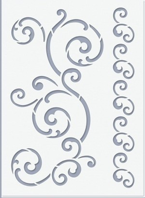 Stencil / Sablon HDS15-021 15*20cm*0,1mm Inda 2