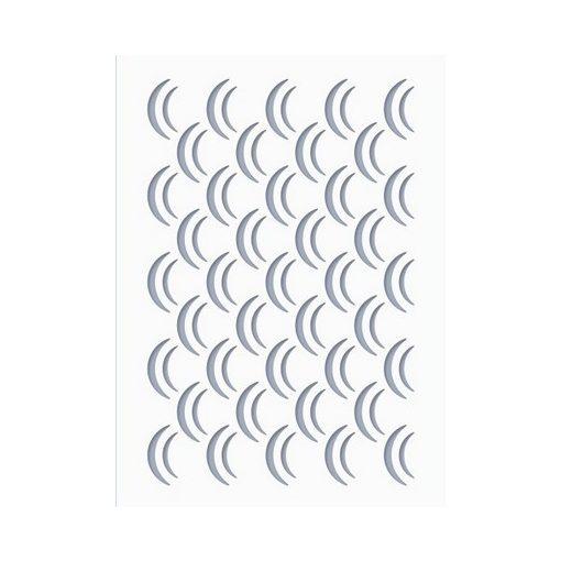 Stencil / Sablon HDS15-030 15*20cm*0,1mm Hullám