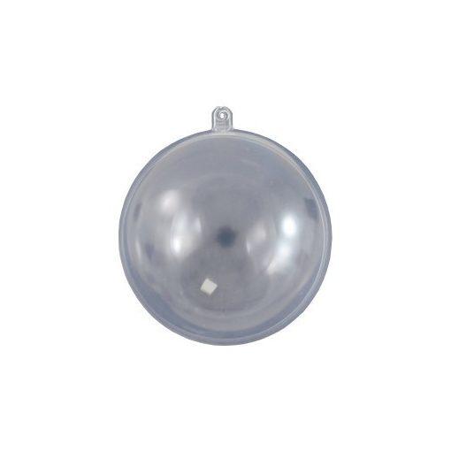 Átlátszó műanyag / akril gömb 8 cm 8095