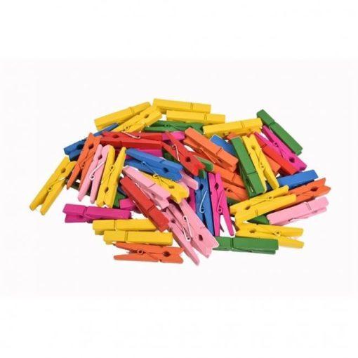 Facsipesz, színes midi 4,5cm 30/cs 90-1174C