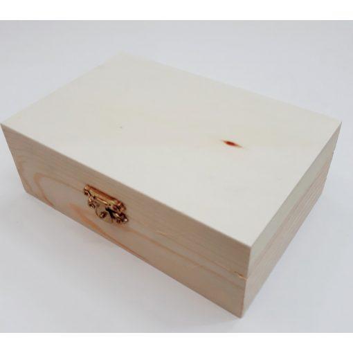 Fadoboz, szögletes 15*10*5cm KL56/8115