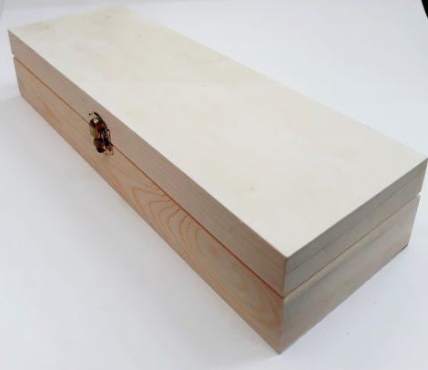 Fadoboz, hosszú/keskeny 33*11*6,5cm KL82/8121