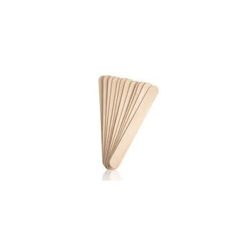 Fa spatula / pálcika natúr  1*11cm 50/cs 7332C