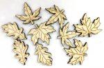 Őszi falevelek kb. 3,5cm 9/cs C5626