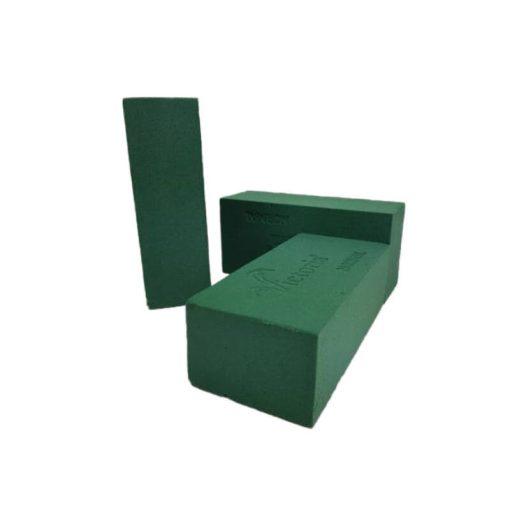 Vizes oázis tűzőhab tégla- zöld 11*23*8cm 1083