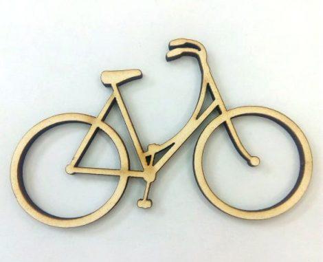 Fa bicikli 8*5cm 3/cs C3879