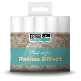 Pentart patina hatás - festék szett 5*20ml