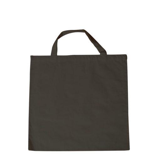 Lenvászon bevásárlószatyor fekete 38 x 42 cm 29920