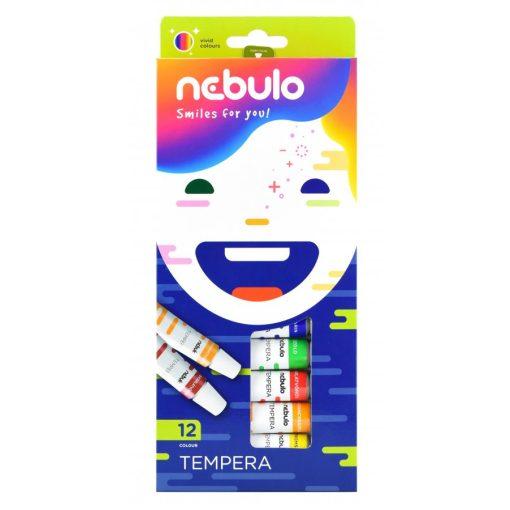 Tempera készlet 12db-os Nebuló 12ml, M06901K12/81053