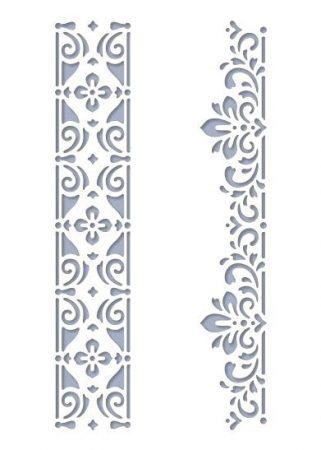 Stencil / Sablon HDS15-074 15*20cm*0,1mm Sorminta-02
