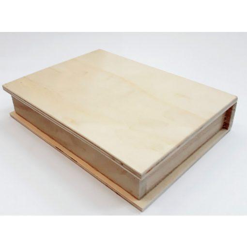 Fadoboz könyves 14*19,5*4cm 3192C