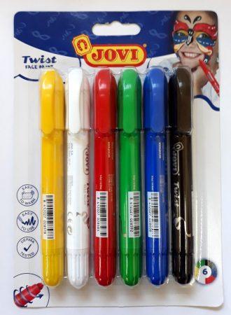 Arcfesték szett JOVI  6 színű, Twist 28224